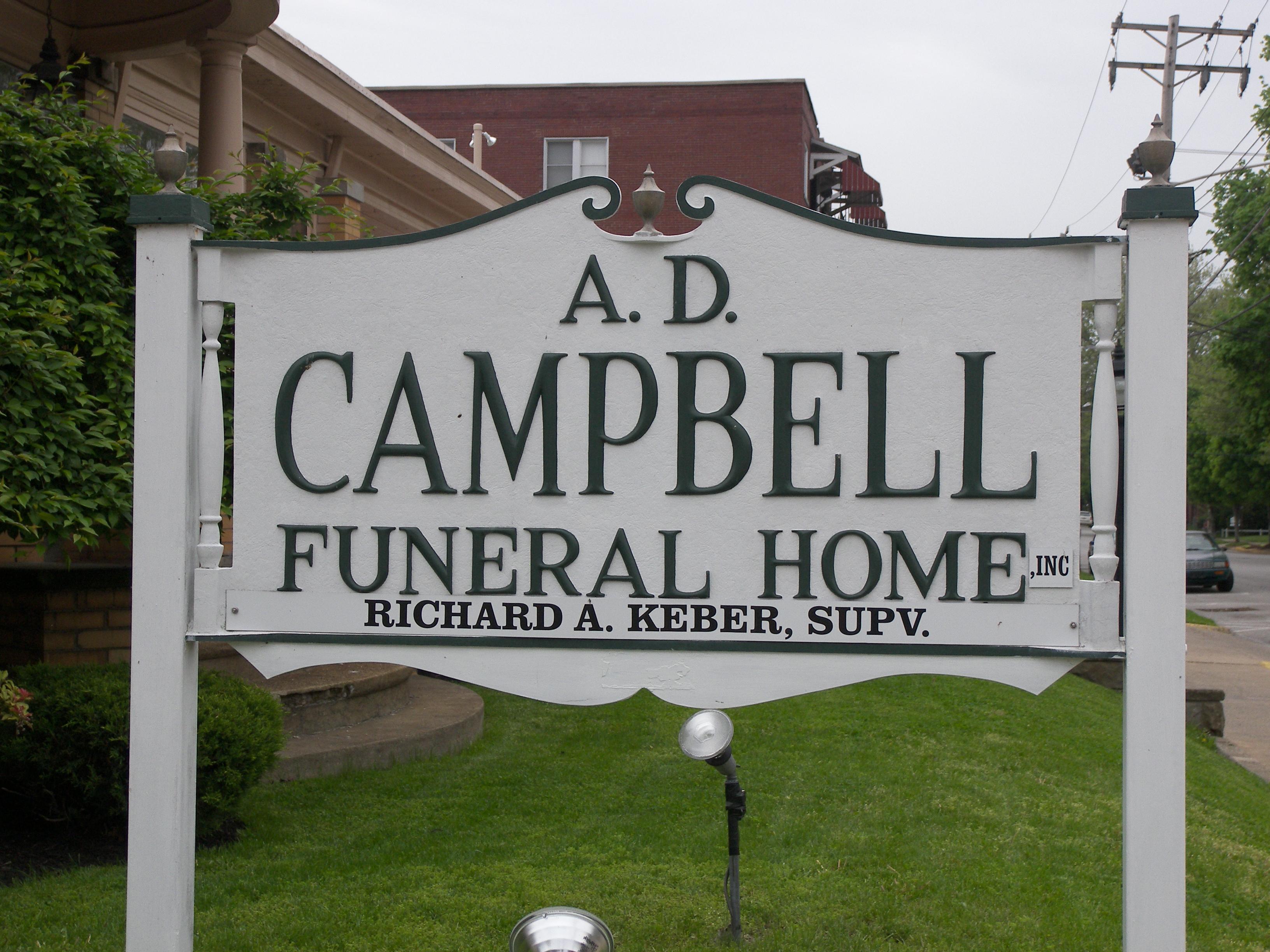 A.D. Campbell Funeral Home located in Beaver Falls PA