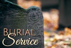 Burial Services provided by Campbell Family Funeral Homes