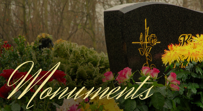 Monuments offered by Design Monuments Company